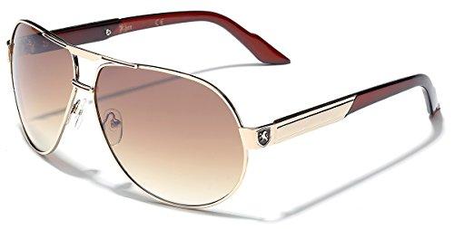 Premium Men's Fashion Aviator Retro 80's Sunglasses -
