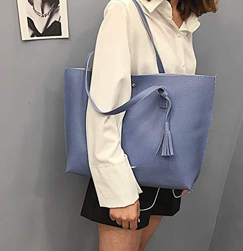 Bag Edlux 4 Azul al Hombro Edlux Bolso Mujer 0 para Edlux Claro Verde Bag Verde a7vw5
