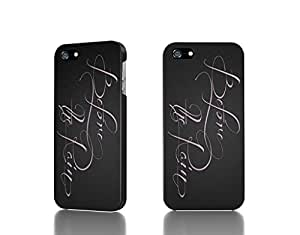Apple iPhone 4 / 4S Case - The Best 3D Full Wrap iPhone Case - text typography font dark background typefaces gradient background before the rain pink text