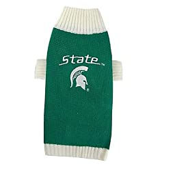 Pets First Michigan State Sweater, X-Small