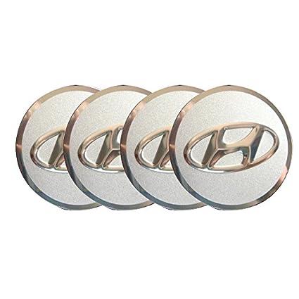 4pcs C048 56,5 mm Car Styling Accesorios emblema adhesivo ...