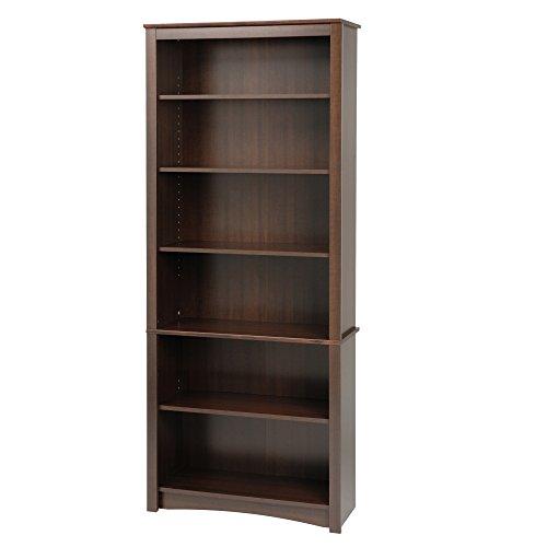 Espresso 6-shelf Bookcase