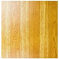 NEW 50 VINYL FLOORING TILES Light Plain Wooden