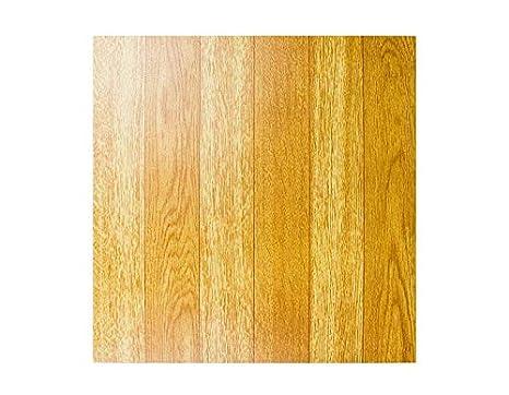 New vinyl flooring tiles light plain wooden floor effect self