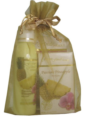 (PASSION PINEAPPLE ISLAND BATH ENCHANTMENT SET - GIFT TRAVEL SET)