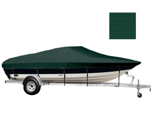 Chaparral Cuddy Cabin - 6.25oz SEMI-CUSTOM BOAT COVER CHAPARRAL 245 SSI CUDDY CABIN BOW RAILS I/O 1995-2002