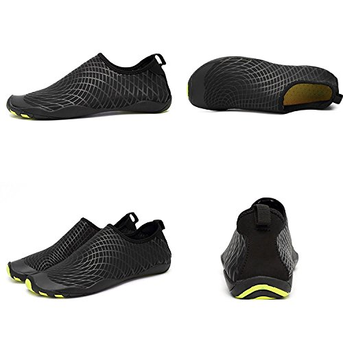 Zzw Lac Voyage Rapide Séchage Bateau LeKuni Water la Plage Yoga Barefoot Shoes Hommes pour Natation PWO6U1q