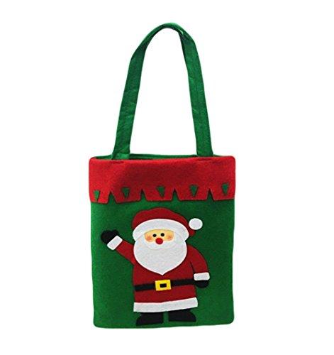 à cadeaux sac de la de Décoration Épais de Sacs Faits Blanc cadeaux Bonbons Wa des Noël main Da Sacs Noël aRqPxc8