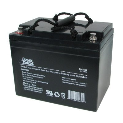12 Volt 35 Amp Sealed Lead Acid Wheelchair Battery by Interstate Battery
