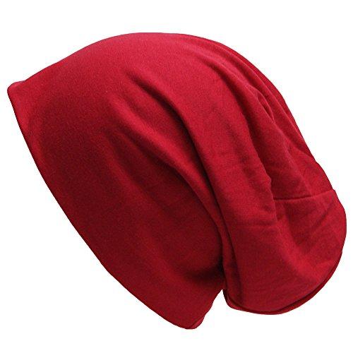 easy4fashion para punto Gorro Rojo hombre de qqr7RwO