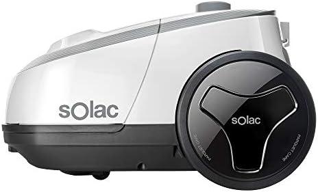Solac S94810700 Aspirador trineo con bolsa, 3 litros, eficiencia ...