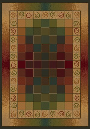 (Traditional Area Rug, United Weavers Genesis Collection 5'x8' Montage Lodge)