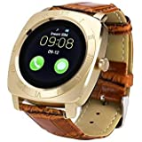 SYL PLus Bluetooth Wearable Smart Watch / Wrist Watch with Sim Card Support for Calling (Rose Gold)