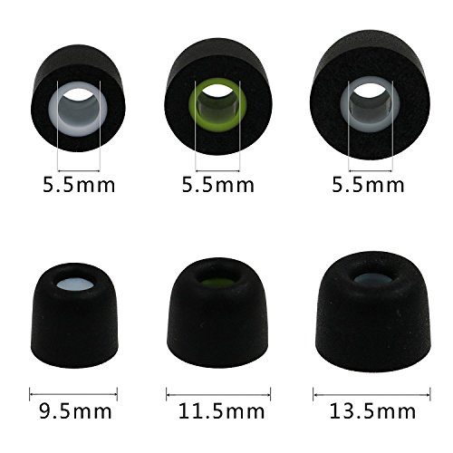 0bd1f188968 Rayker Memory Foam Replacement Jaybird Bluebud X X2 X3 Freedom F5 Earbud  Tips Ear Adapter,