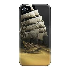 Top Quality Rugged Ship Case Cover For Iphone 4/4s wangjiang maoyi