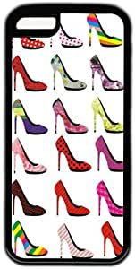 High Heels Case for IPhone 5C PC Material Black