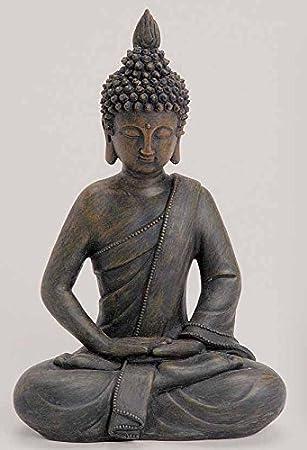 Asiatische Dekoartikel amazon de deko asien garten buddha figur statue skulptur feng shui