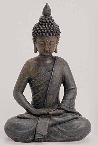 Deko Asien Garten Buddha Figur Statue Skulptur FENG Shui 27 cm Garten