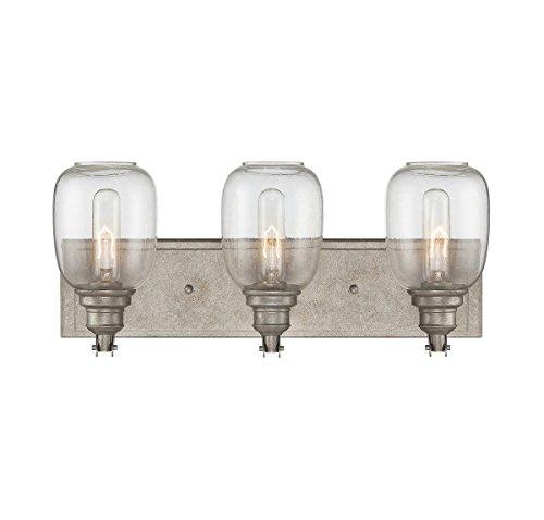 (Savoy House 8-4334-3-27 Orsay 3-Light Vanity Bar in Industrial Steel)