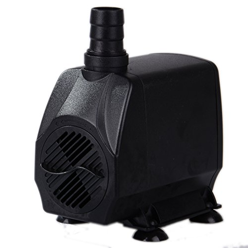 Uniclife UL1000 Submersible Pump, 1000 GPH, Pool/garden/ Hydroponic/ Fountain/ Pond/Statuary with 6' UL Certification