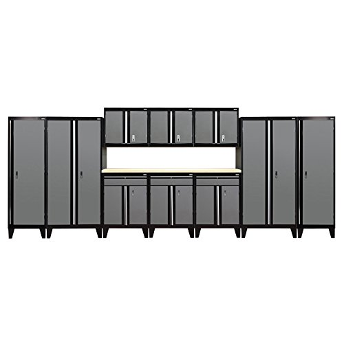 Sandusky Lee GS11-029L Modular Garage Welded Storage System, 79