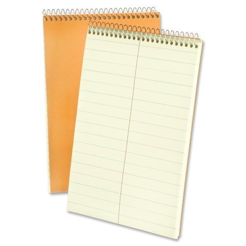 TOPs Products Steno Book,15 lb., Pitman Ruled,80 Sheets, 6 x 9 Inches, Green Paper (ESS25275) by ()