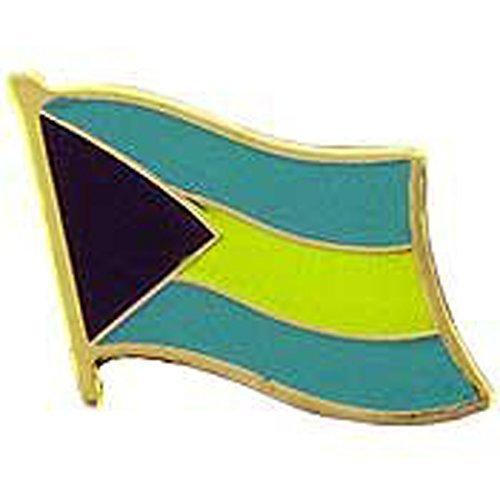 Metal Lapel Pin World National Flag Bahama