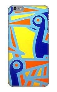 VenusLove CQxHZW-2865-XqOHI Case Cover Iphone 6 Plus Protective Case Cobalt Birds( Best Gift For Friends)