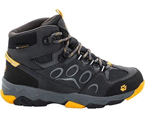 Jack Wolfskin MTN Attack 2 Texapore Mid - Chaussures Enfant - gris Modèle 33 2016 chaussures de montagne