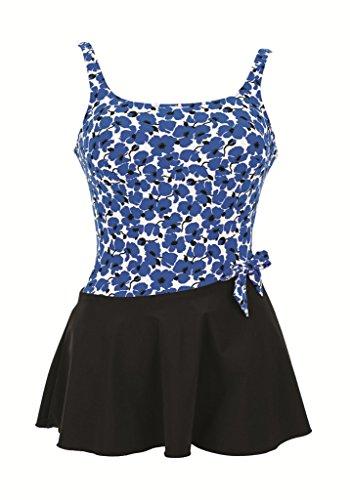 Anita Care Womens Kista Mastectomy One-Piece Swimsuit Dress, ANI-6448, 10B