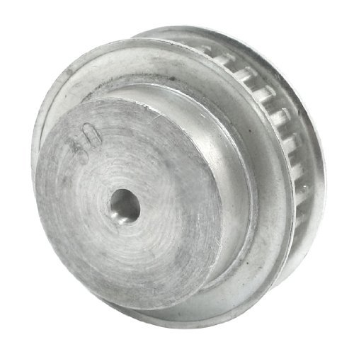 Schrittmotor 30 Z/ähne 6 mm Bohrung XL-Typ Aluminium Zahnriemenscheiben