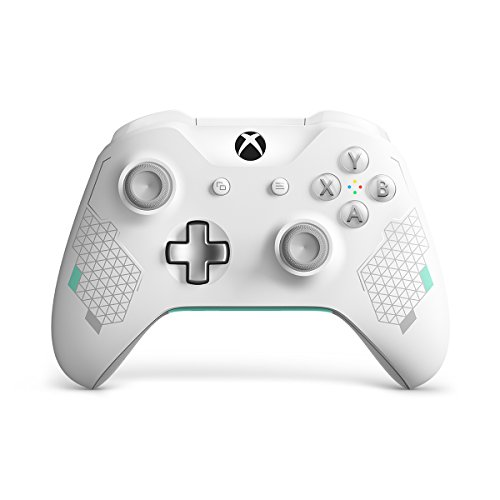 Video Games : Xbox Wireless Controller - Sport White Special Edition