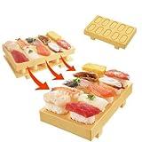 TOBIDASE OSUSHI -Super Easy Real Japanese Style Sushi Making Plate For Sushi Bazooka Lovers