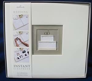 Hallmark Wedding SBK1203 Happy Ever After 12 X 12 Instant Scrapbook