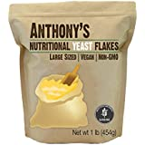 Anthony's Premium Nutritional Yeast Flakes (1lb), Fortified, Gluten Free, Non-GMO, Vegan