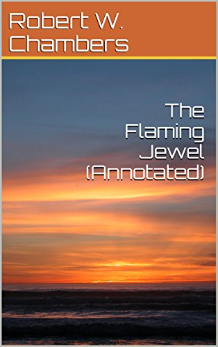 book cover of The Flaming Jewel