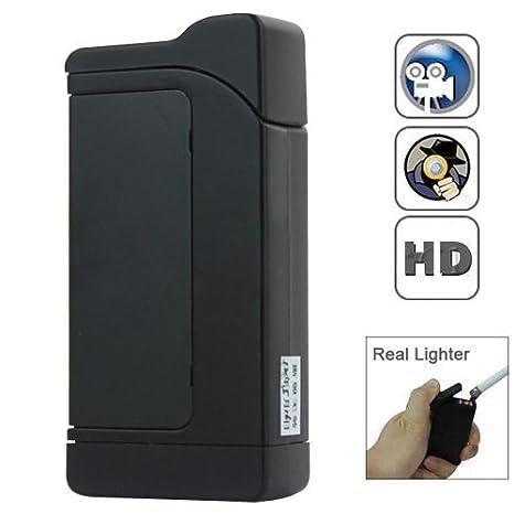 HD Encendedor Video Recorder DVR mini cámara espia - (Negro) por Online-Empresas: Amazon.es: Bricolaje y herramientas