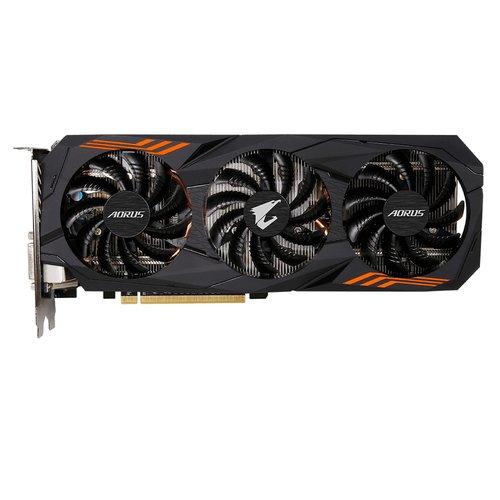 Color Negro Gigabyte GV-N1060AORUS-6GD V2 Tarjeta gr/áfica