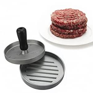 Man Friday Kitchen Hamburger Press Meat Patty Mold Maker 12cm/4.8inch