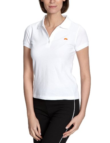 Ellesse Heritage - Polo para Mujer, tamaño XS, Color Blanco ...