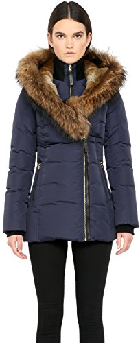 Mackage Ladies Down coat with asiatic raccoon and rabbit ...