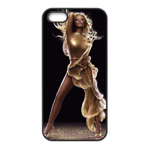 Mariah Carey Image coque iPhone 5 5S cellulaire cas coque de téléphone cas téléphone cellulaire noir couvercle EOKXLLNCD25778