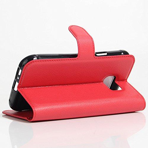 Funda Samsung Galaxy S7 Active,Manyip Caja del teléfono del cuero,Protector de Pantalla de Slim Case Estilo Billetera con Ranuras para Tarjetas, Soporte Plegable,Cierre Magnético(JFC9-12) I
