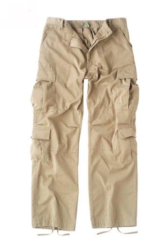 (2686 Khaki Vintage Paratrooper Fatigues (Small))