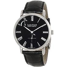 Louis Erard Men's 53230AA12.BDC29 Excellence Analog Display Mechanical Hand Wind Black Watch