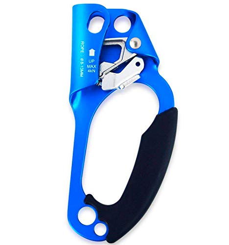 Ito Rocky Right Hand Ascender Arborist Climbing Equipment Gear Rock Rappelling Equipment for Tree Rope Clamp Climber for 8-13MM Rope ()