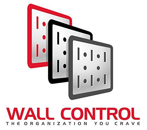Wall Control 30-P-0832 Y Narrow 8'' x 32'' Yellow Metal Pegboard Runner Tool Board by Wall Control (Image #5)