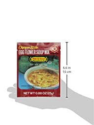 Kikkoman Egg Flower,  Hot and Sour Soup, 0.88-OuncePouch  (Pack of 12)