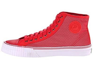 1a97c31000 Image Unavailable. Image not available for. Color  PF Flyers Unisex Center  Hi Red Sneakers ...