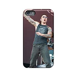 Excellent Cell-phone Hard Covers For Iphone 6plus (Nmt1445UtRH) Allow Personal Design Attractive Avenged Sevenfold Skin